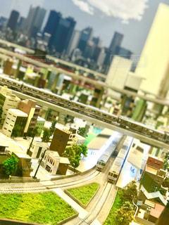 鉄道模型の写真・画像素材[1011209]