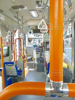 バスの中の写真・画像素材[1127712]