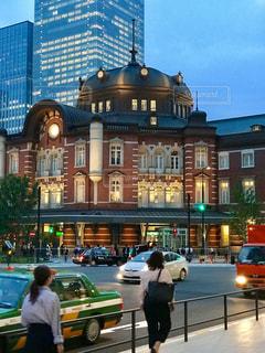 東京駅、帰り道の写真・画像素材[1190139]