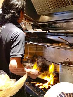 炎の料理の写真・画像素材[1225016]