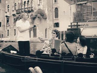 ベネチアのゴンドラの写真・画像素材[1225128]