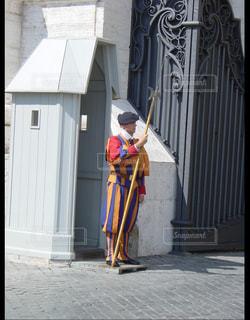 バチカンの衛兵の写真・画像素材[1225130]
