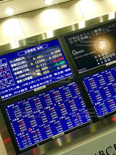 株価チェクの写真・画像素材[1232453]