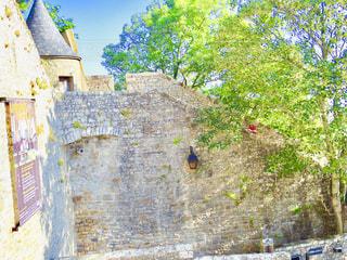 モンサンミッシェルの城壁の写真・画像素材[1314516]