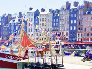 フランスの港町の写真・画像素材[1315004]