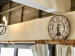 壁の時計の写真・画像素材[1365877]