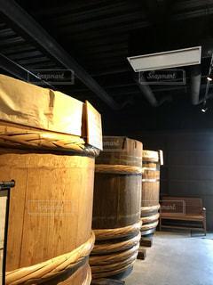 信州松本の味噌蔵の写真・画像素材[1453977]