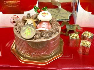 Christmas cakeの写真・画像素材[1606151]