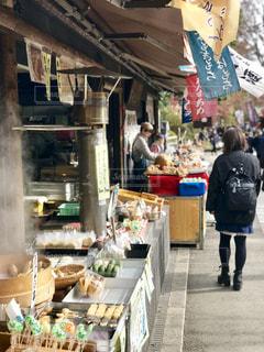 深大寺のお土産屋の通りの写真・画像素材[1664205]