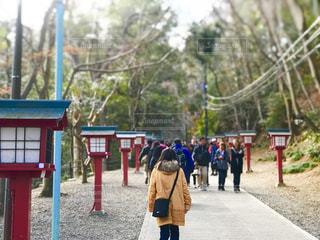 高尾山の参道の写真・画像素材[1707083]