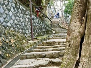 高尾山の登り道の写真・画像素材[1709641]