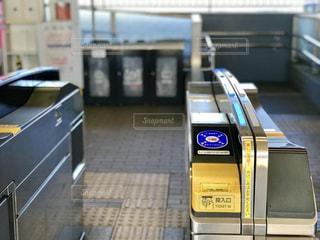 駅の自動改札の写真・画像素材[1765617]