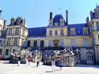 フランスのフォンテーヌブロー宮殿の写真・画像素材[1776646]