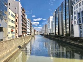神田川と街の写真・画像素材[1831729]