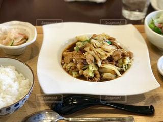 オシャレ中華料理のランチセットの写真・画像素材[1851236]