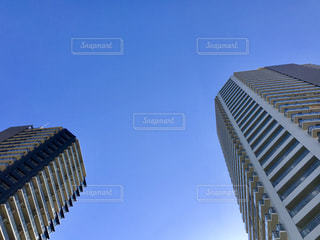 青い空とタワーの写真・画像素材[2037252]