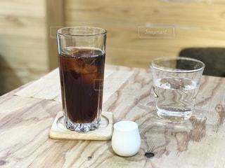 暑い日にはアイスコーヒーが止まらない。の写真・画像素材[2107050]