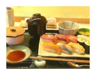 お寿司の写真で絵画風の画像を作成の写真・画像素材[2302657]