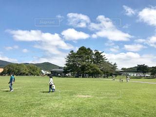 軽井沢のショッピングパークは素晴らしい天気でした。の写真・画像素材[2438512]