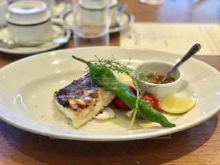 軽井沢のホテルのレストランでランチの写真・画像素材[2438634]