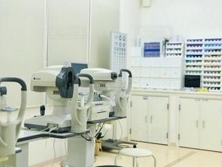 眼科の医療機器の写真・画像素材[2632098]