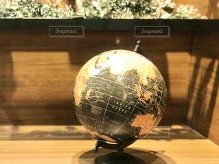アンティークぽい地球儀の写真・画像素材[2805062]