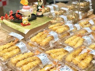 大晦日。年越し蕎麦用に、天ぷらを買いに来ました。皆さま良いお年を(^^)。の写真・画像素材[2838036]