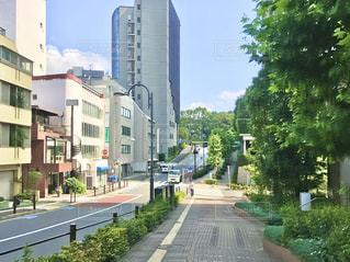 赤坂のとある坂道の写真・画像素材[3155352]