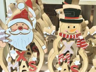 クリスマスの雑貨が街に並び始めました。の写真・画像素材[3845713]