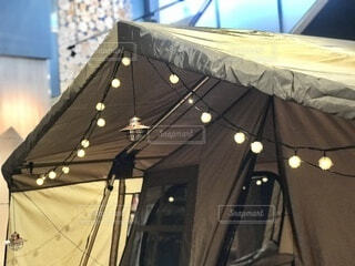 テントの飾りの写真・画像素材[3969768]