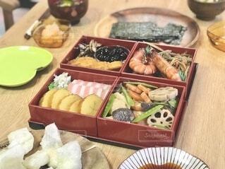 今年のおせち料理の写真・画像素材[4016547]