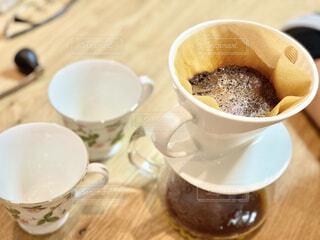 コーヒーをドリップの写真・画像素材[4154156]