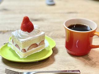 ザ、ショートケーキの写真・画像素材[4160615]