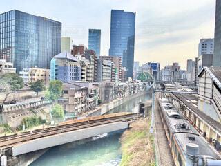 御茶ノ水の橋から神田川を望むの写真・画像素材[4217948]
