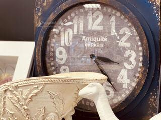 時計の文字盤の写真・画像素材[4307863]