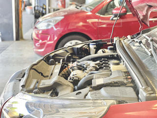 車の整備の写真・画像素材[4322477]