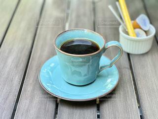 食後に珈琲を一杯の写真・画像素材[4327694]