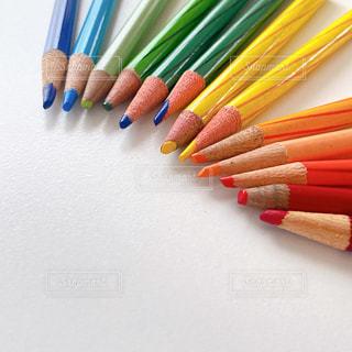 色鉛筆の写真・画像素材[3216597]