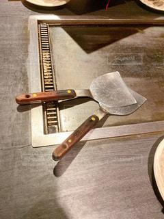 お好み焼き鉄板の写真・画像素材[3224840]