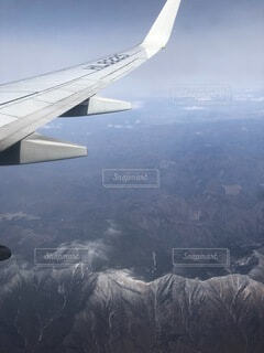 飛行機からの景色の写真・画像素材[3626282]