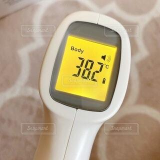 表面体温計の写真・画像素材[3728734]
