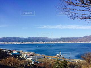 諏訪湖の写真・画像素材[805597]
