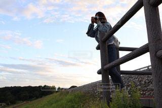 写真を撮るの写真・画像素材[805804]