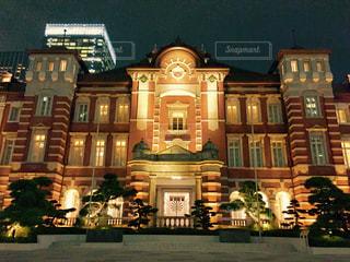 夜の東京駅 - No.874241