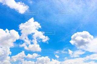 青空と雲の写真・画像素材[3083165]