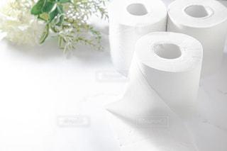 トイレットペーパー、トイレ、日用品の写真・画像素材[3082396]