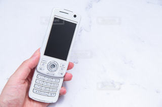 スライド携帯の写真・画像素材[3570237]
