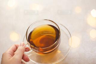 お茶を飲む。おうち時間、休憩、ティータイム。の写真・画像素材[3945179]