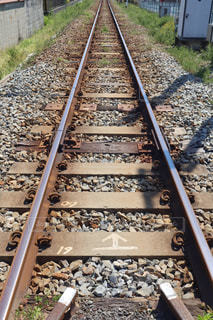 線路の写真・画像素材[3132124]
