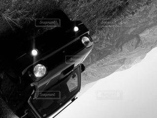 車のクローズアップの写真・画像素材[4413494]